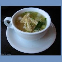 Dukan Diet Attack Phase Recipe: Miso Soup | thedukandietsite.com - Take out the seaweed for Attack Phase