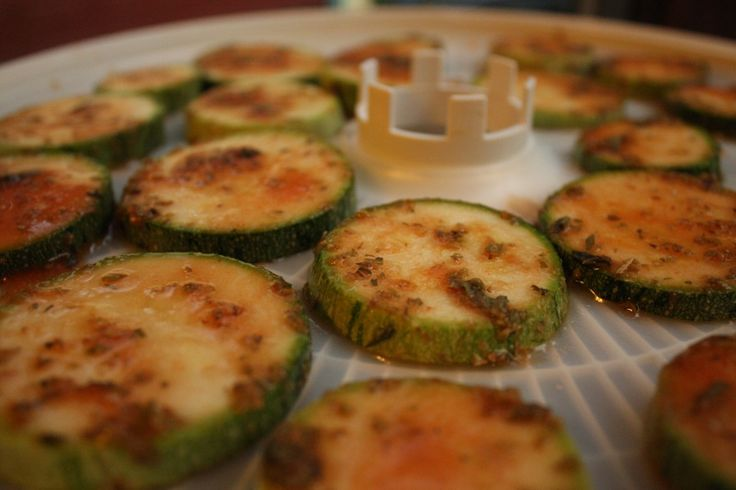 Pizza-chini!! - flavored dehydrated zucchini chips that taste like pizza flavored corn chips