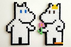 crocc stitch chart moomin - Google-haku