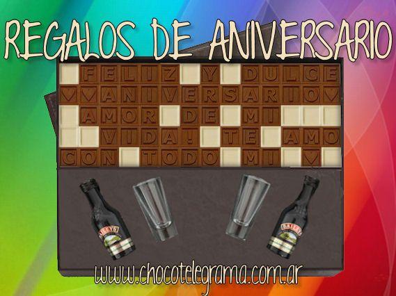 CHOCOTELEGRAMA - REGALOS ORIGINALES DE ANIVERSARIO