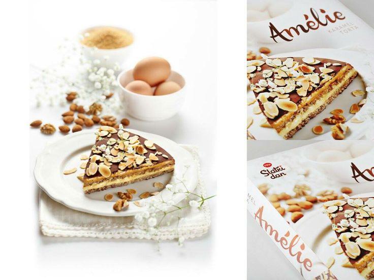 Premium packaging for cake made of Belgian chocolate...www.slatkidan.com
