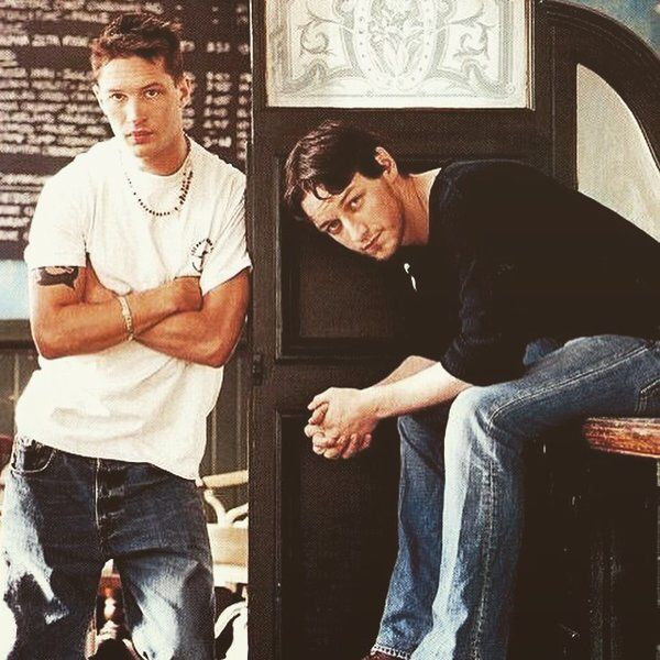 Tom Hardy and James Mc...
