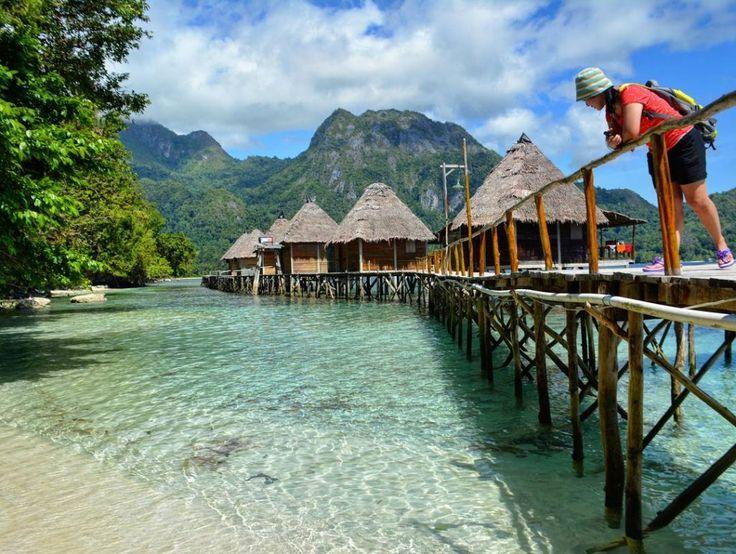 Keindahan Pantai Maldives Dan Bora Bora Jadi Satu Di Pantai Ora Maluku