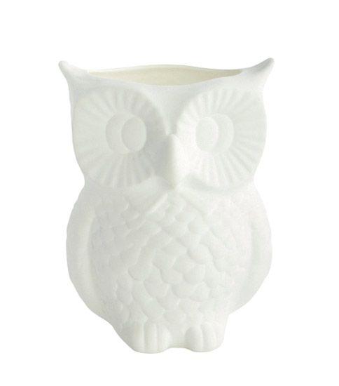 House Doctor Owl Vase