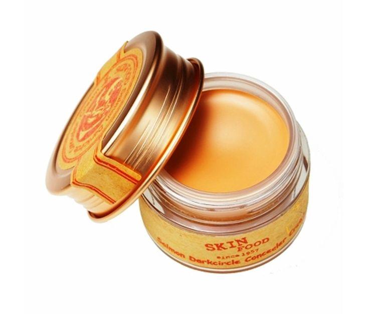 SKINFOOD Salmon Dark Circle Concealer Cream (#2 Beige) Skin Food Perfect Cover bb Cream Whitening Concealer Base Face Makeup