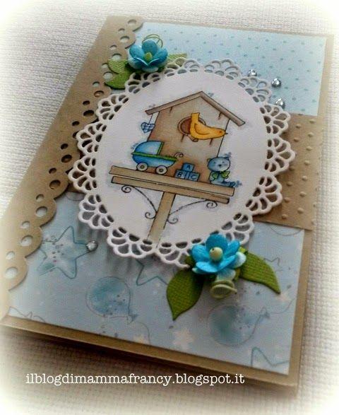 """Il blog di mamma Francy: Mini album """"Hello little one""""! Little Claire Design"""