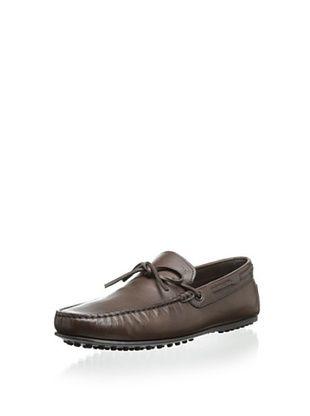 39% OFF Tod's Men's Moc-Toe Loafer (Dark Brown)
