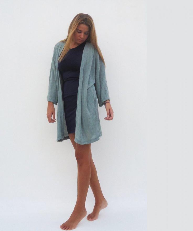 Gray Kimono