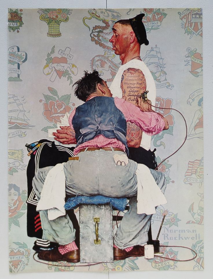 Vintage Norman Rockwell 86