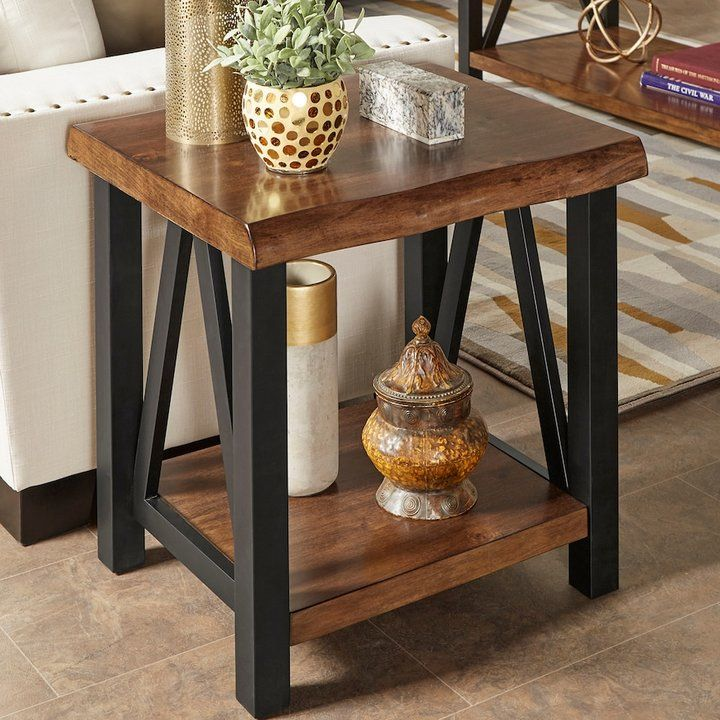 Best 25+ Rustic end tables ideas on Pinterest   End tables ...