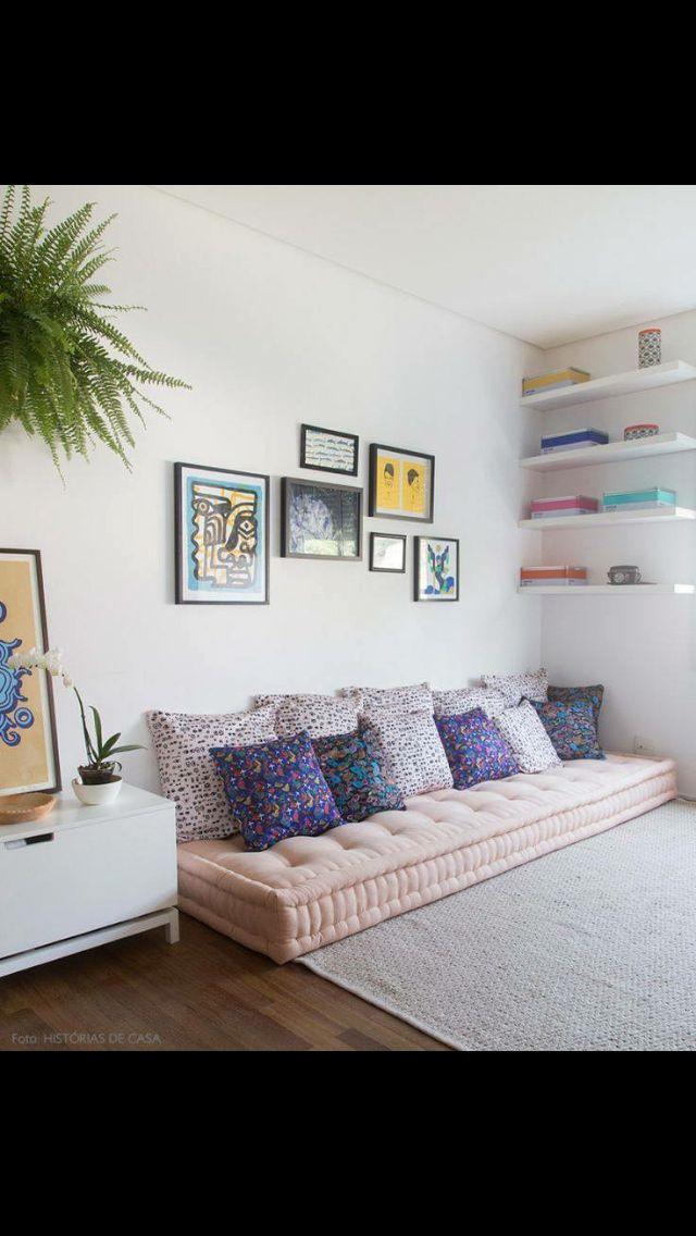 M s de 25 ideas incre bles sobre salones de futones en for Imagenes de futones