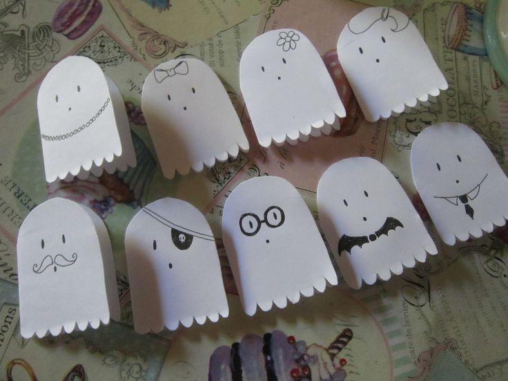 """Cartes """"petits fantômes"""""""