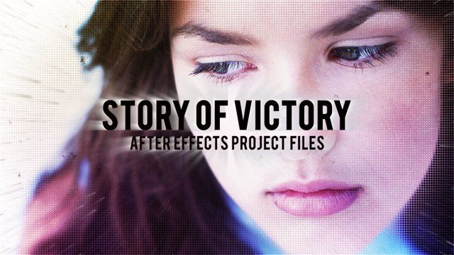 After effects CS4 project Story of Victory. this project can be use for any kind of your video production, this project is modular and you can add more any scene on this project and of course you don't need any third-party plugins.  Project available here : http://videohive.net/item/story-of-victory/9410374