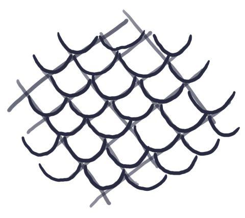 Dragon Scale Sketching Type 1 Drawing Pinterest