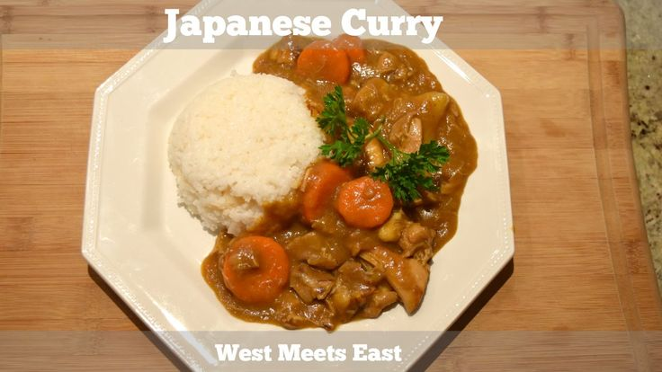 Japanese Curry - West Meets East
