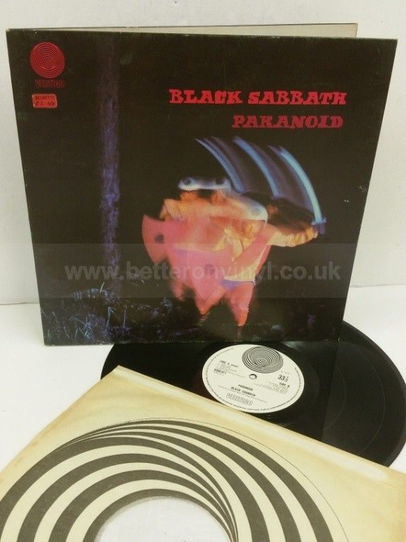 BLACK SABBATH paranoid, gatefold, 6360 011 - ROCK, PSYCH, PROG, POP, SHOE GAZING, BEAT