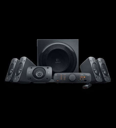 You get big, bold sound and details galore from these 500-watt, THX®-Certified speakers with 5.1 digital decoding.