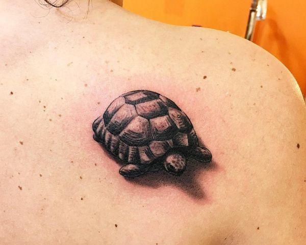 25 Schildkröten Tattoo Ideen: Bilder und Bedeutungen
