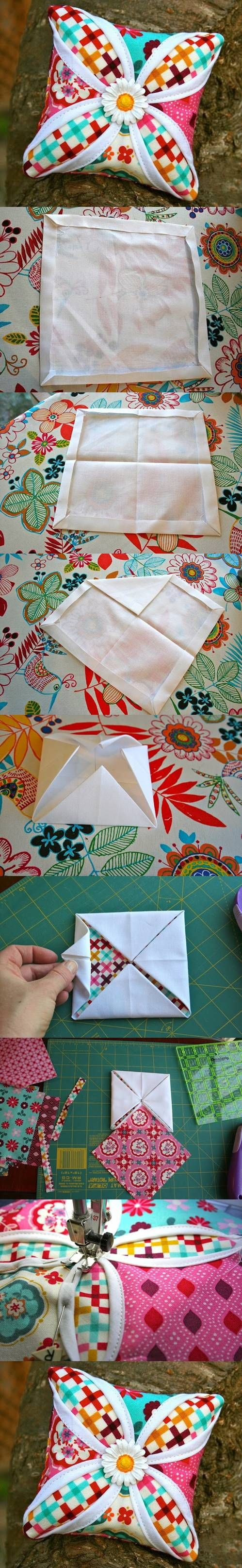 DIY Cathedral Pillow Pattern DIY Projects