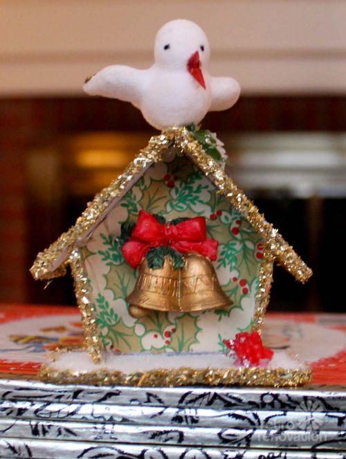 how to make a christmas diorama