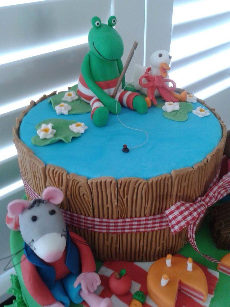 Kikker taart