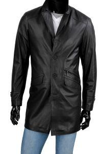 Płaszcz skórzany  męski DORJAN ERK450_2