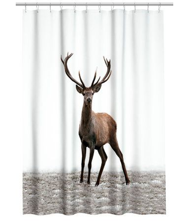H&M Shower Curtain w/Motif <3