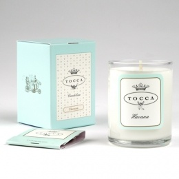 Havana travel candle by Tocca, amazing fragrance