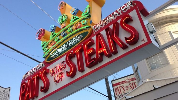 Pat's King of Steaks  South Philly - College Trip 2007ish - Got a real cheesesteak!