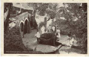 Sunray Photo-Style Postcard, The Wishing Well, Upwey, Weymouth, CM1178