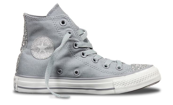 Chuck Taylor All Star Side Zip Sparkle Toe Cap Http Www