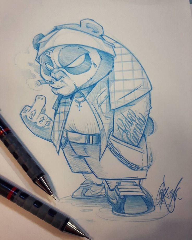 La Vida Panda #ozer #ozertattoo #ozergraffiti # ...