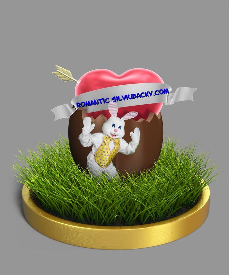 Your logo inside an easter egg
