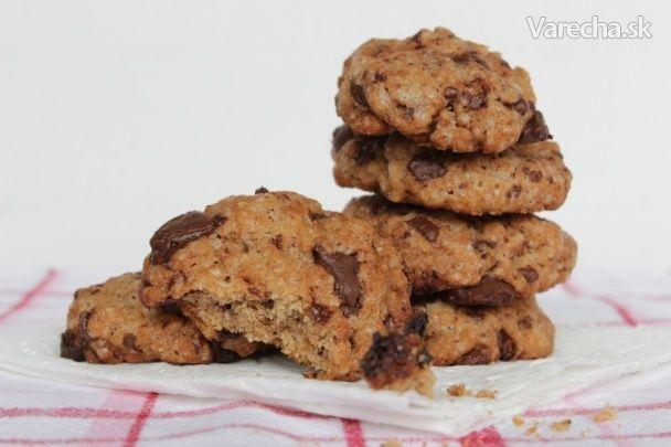 Cookies s kúskami čokolády (fotorecept)