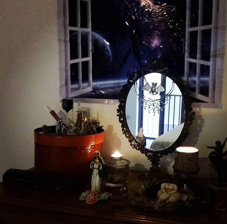 Illusion is part of reality #openmind #openwindow #universe #religion #altar #magick #mirror #sacret #space August 05 2017 at 07:40PM