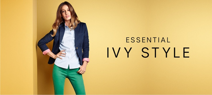 Essential ivy style women