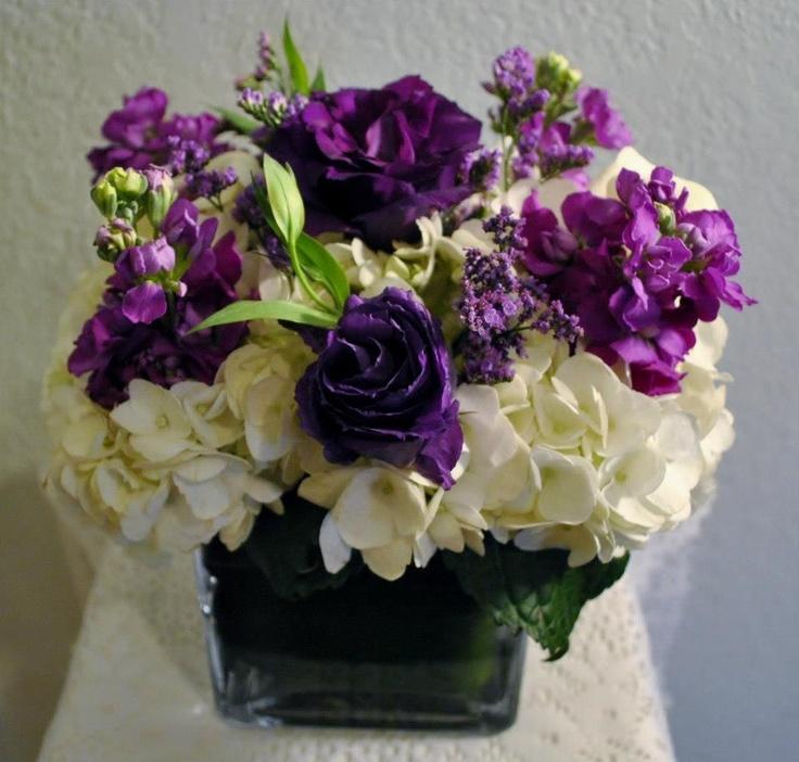 Best images about purple centerpieces on pinterest