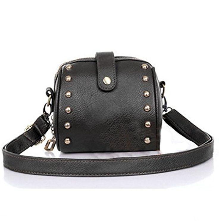 Winlans® Mini Bag Camera Bag Rivets Small Bag