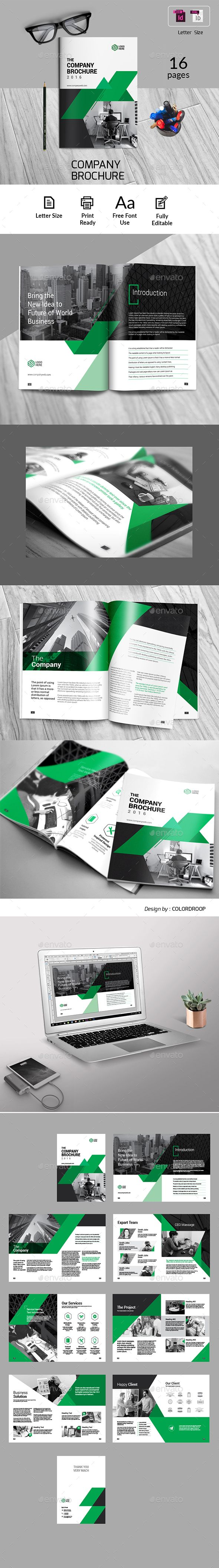 Business Brochure — InDesign INDD #letter #company • Download ➝ https://graphicriver.net/item/business-brochure/19897327?ref=pxcr