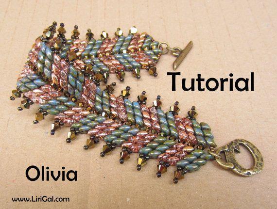 Image result for twin bead bracelet pattern