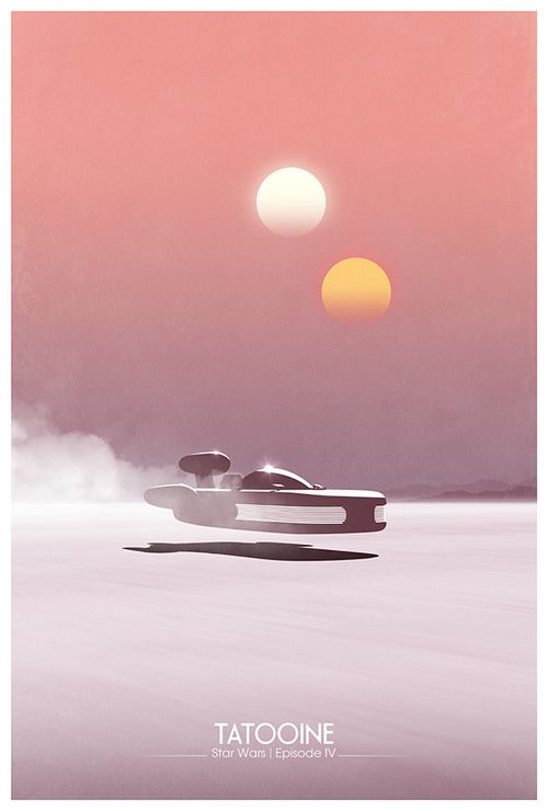 Star Wars: Episode IV - A New Hope by DirtyGreatPixels