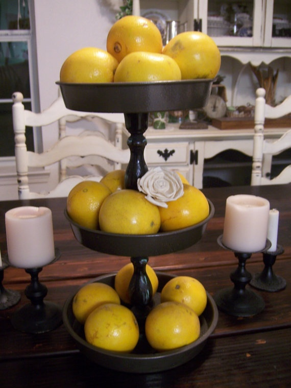 Cute Three Tier Fruit Stand