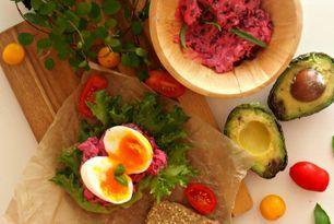Fettfattig og kalorilett rødbetsalat