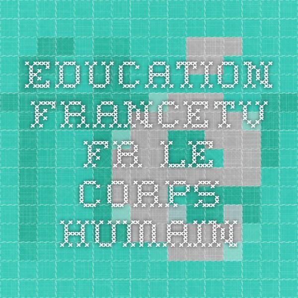 education.francetv.fr le corps humain