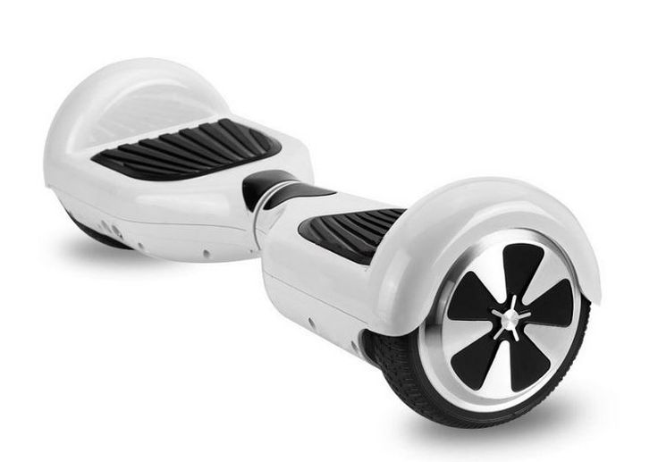 Two Wheel Electric Scooter Unicycle Self Balancing Standing Scooters 6.5inch Automatic Skateboard