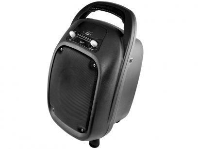 Mini Caixa de Som Amplificadora 100W RMS - USB Bluetooth com Microfone Leadership 435 com as melhores condições você encontra no Magazine Siarra. Confira!