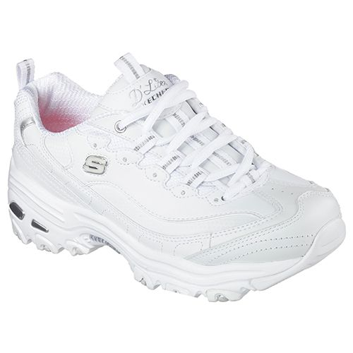 Ladies Skechers Fresh Start Athletic Sneakers 7.5 M White