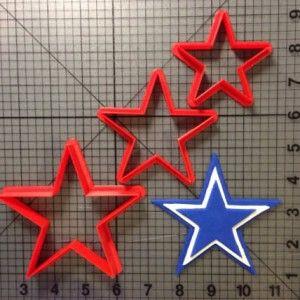 Dallas Cowboys Cookie Cutter Set