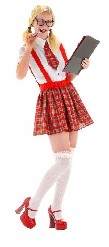 Sexy schoolmeisje