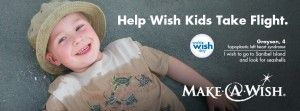 If you live in Santa Barbara, San Luis Obispo and Ventura Counties, DONATE your frequent flyer miles to make children's wishes come true<3